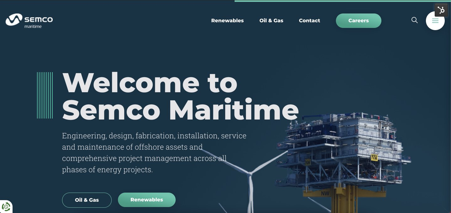 Welcome to Semco Maritime