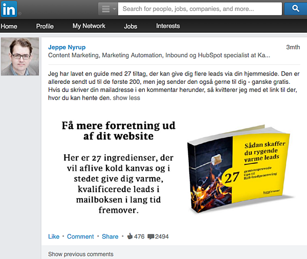 Jeppe LinkedIn