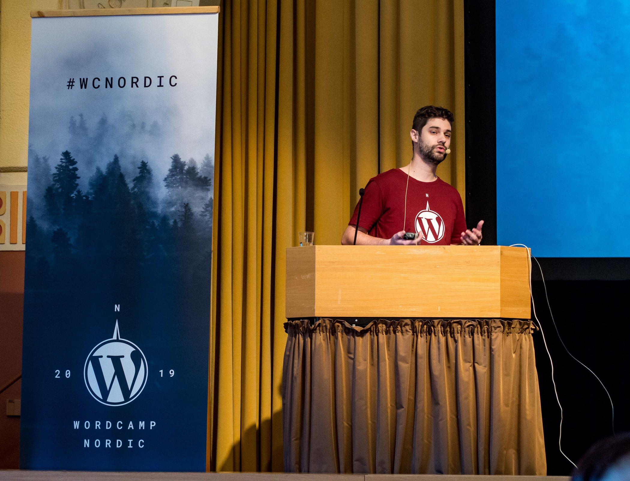 Marco Martins WordCamp Nordic