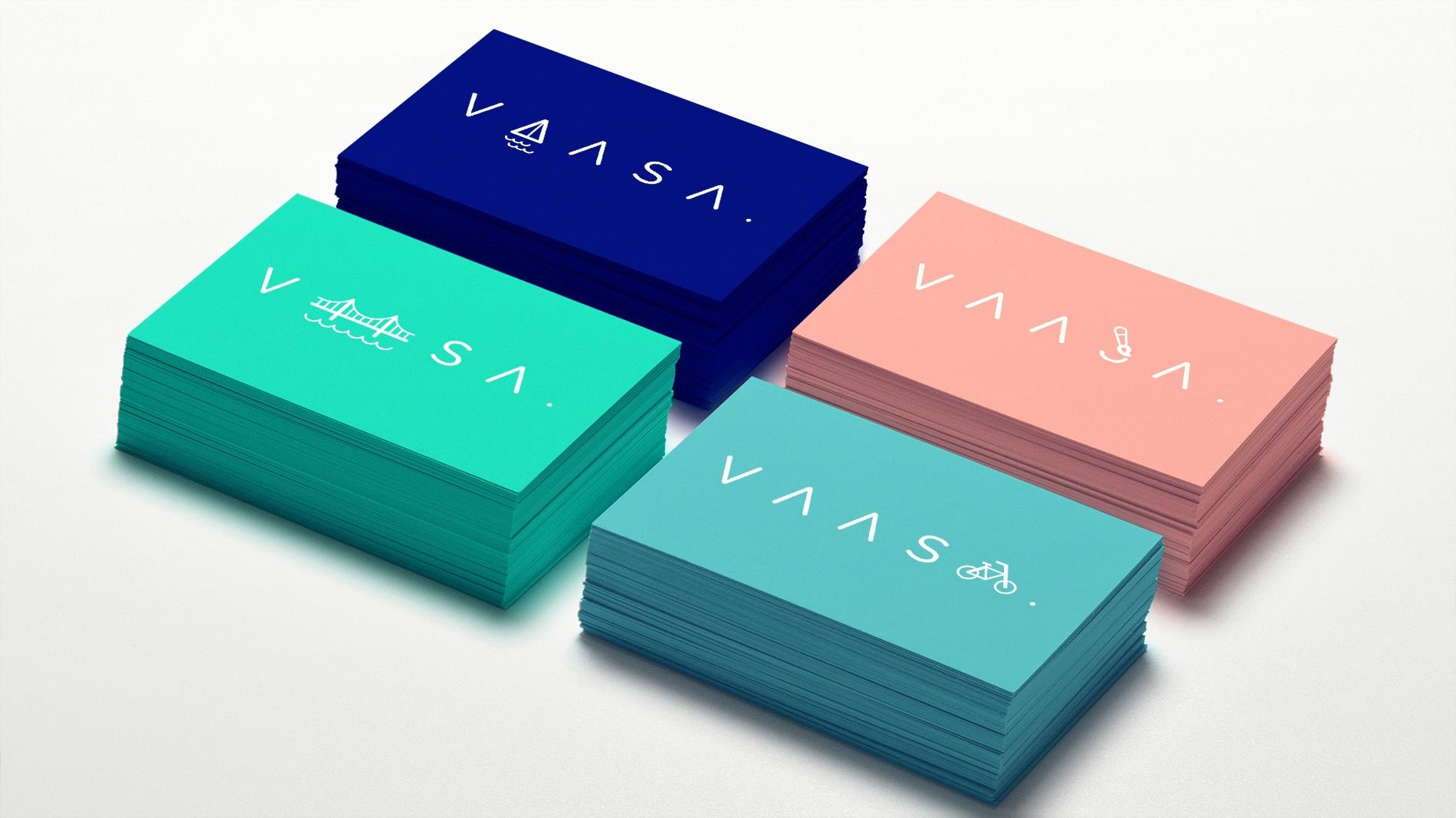 Vaasa - Logokortit