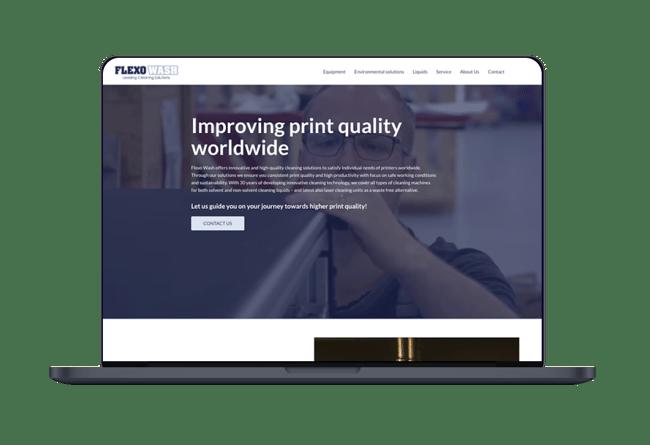 FlexoWash Frame