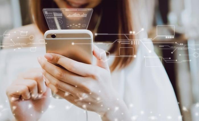 Vi bruker 18x mer tid i en app enn på mobilnettside
