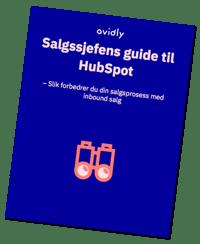 Salgssjefens guide til hubspot