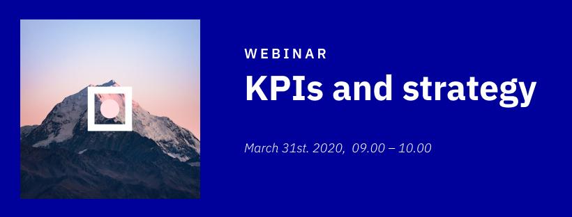 KPIer og strategi - Banner