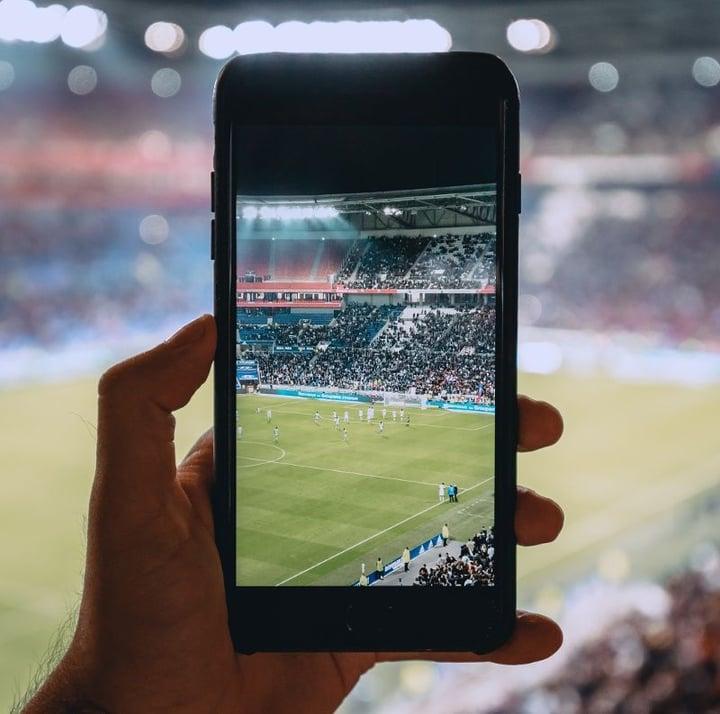 Soccer mobile phone digital1