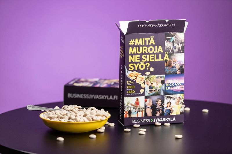 Suomen kuivin rekry kampanja