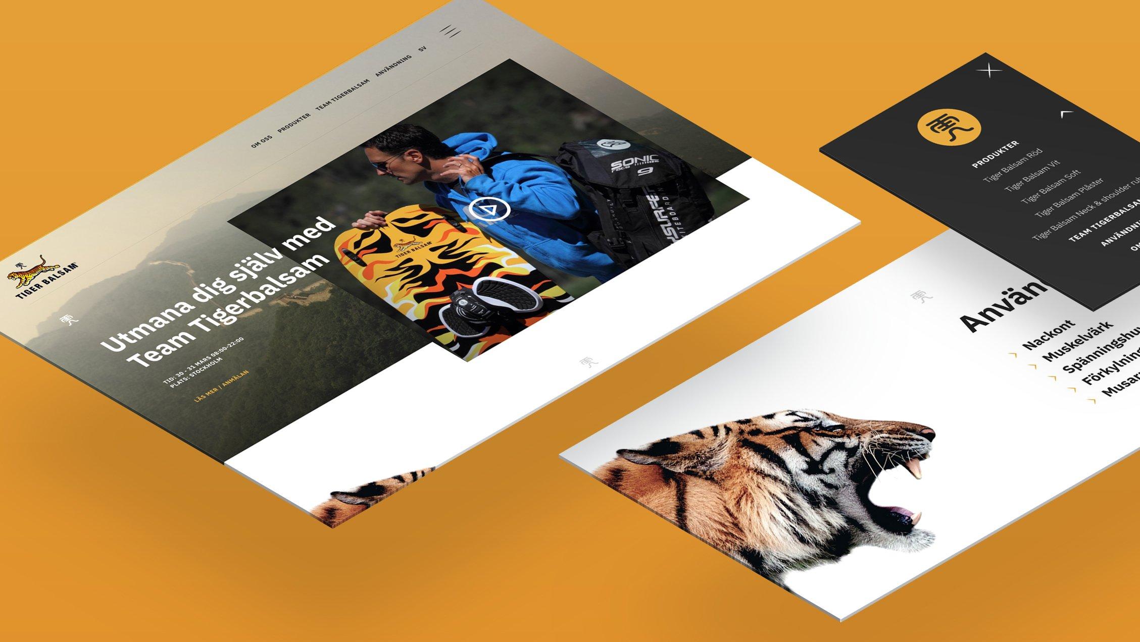 Tigerbalsam-screens