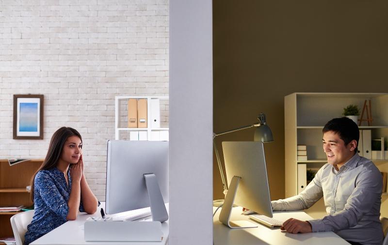 Virtuelle møter i samarbeid mellom bedrift og byrå